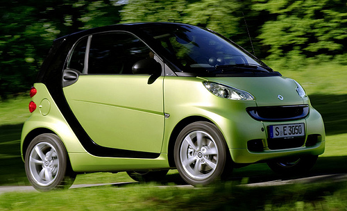 Auto mercedez benz smart