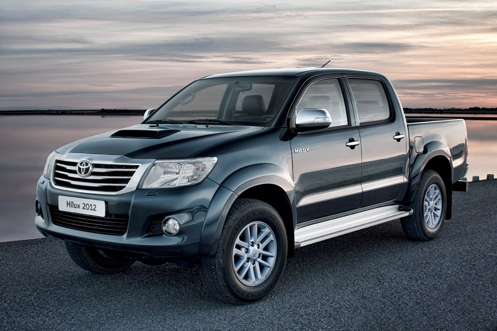 novedades del Toyota Hilux 2012