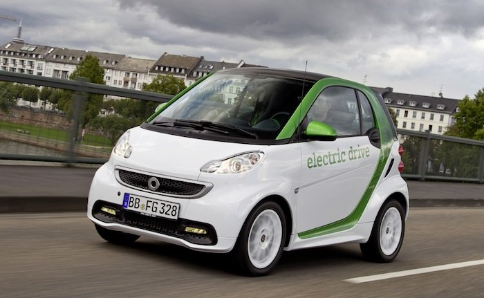 Smart Two Electric Drive 2012