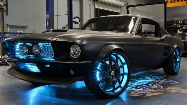 Ford Mustang y Microsoft