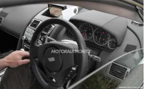 Aston Martin DB9 2013 (interior)