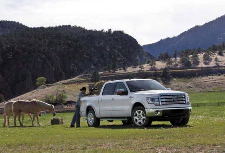 Ford F-150 King Ranch 2013 - Características