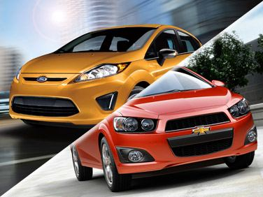 Ford Fiesta vs Chevrolet Sonic