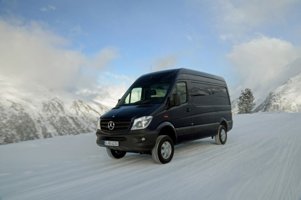 Mercedes Benz Sprinter 4×4