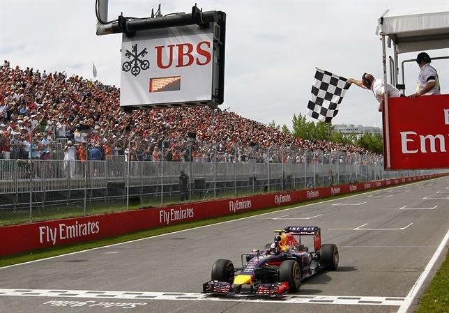 F1 Gran Premio de Canadá 2014