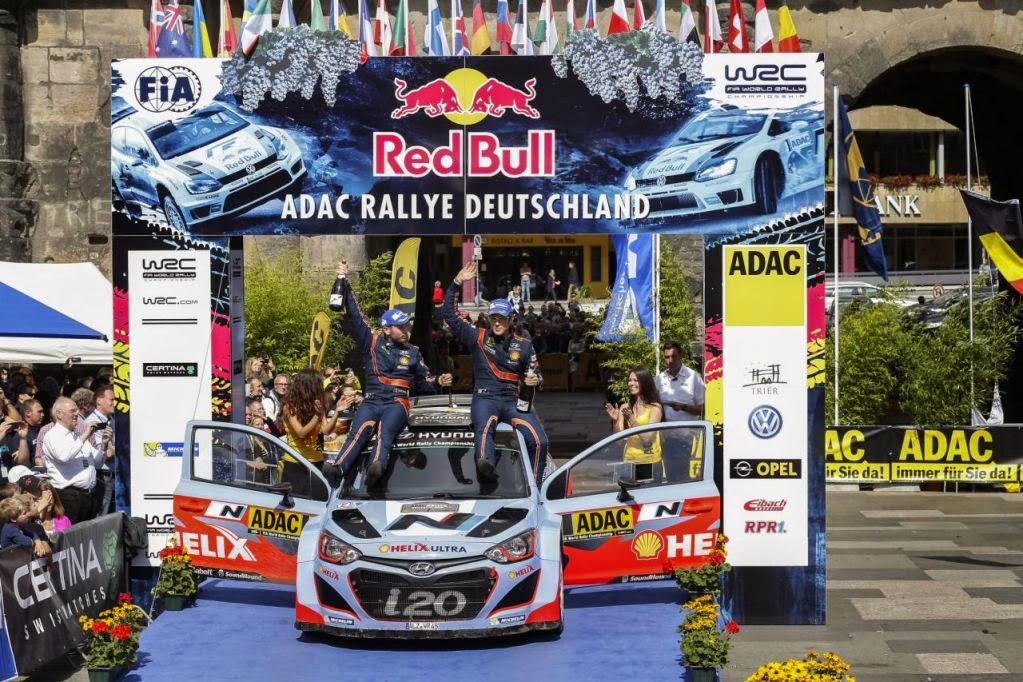 WRC Rally Alemania 2014