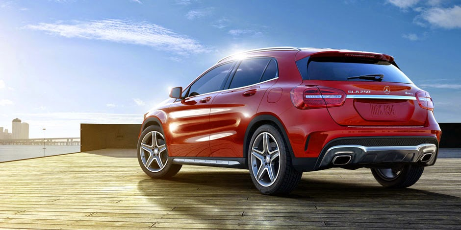 Mercedes Benz GLA 2015