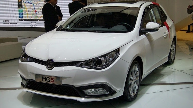 MG5 Turbo 2014