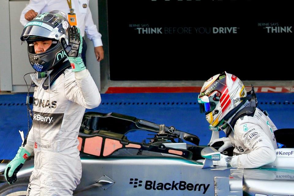 F1 Gran Premio de Rusia 2014