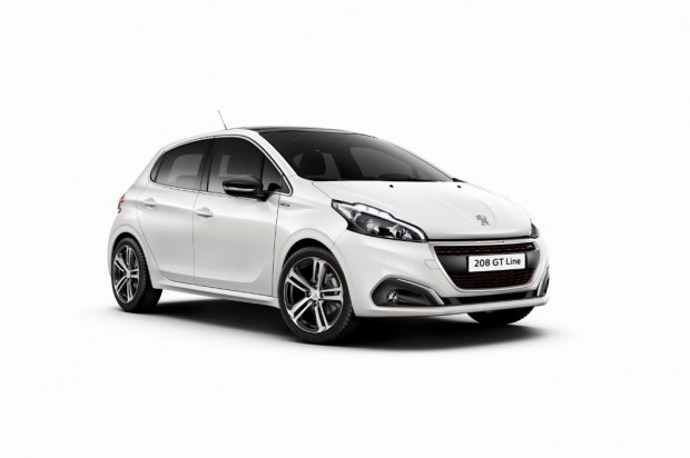Peugeot 208 restyling 2015 para Europa