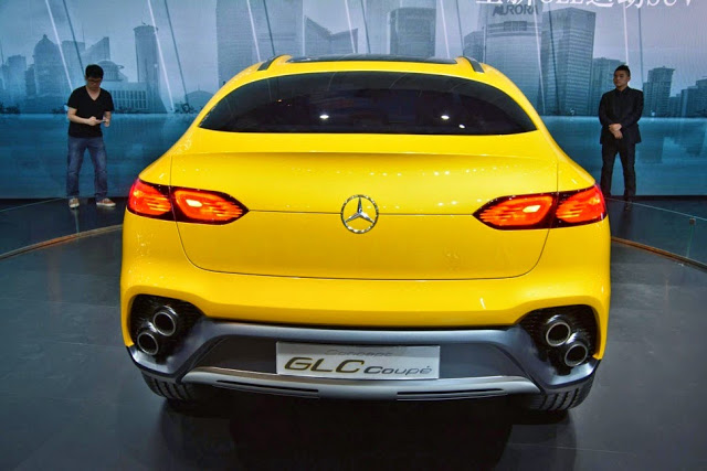 Mercedes-Benz GLC Coupé Concept