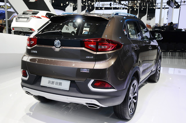 MG GS SUV 2015